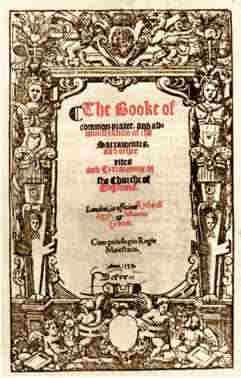 Title page of 1559 Book of Common Prayer